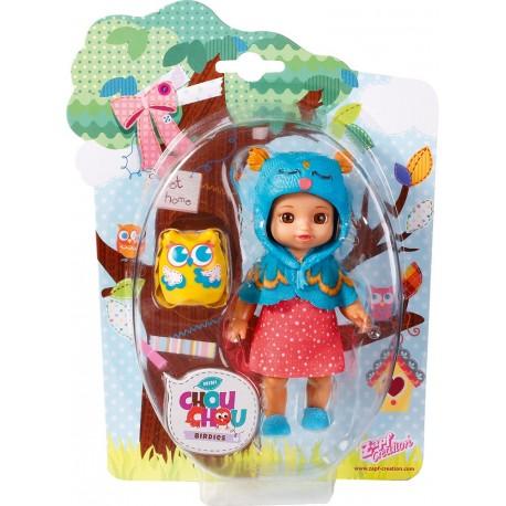 Mini Chou Chou - Birdies, muñeca Flory (Bandai 920152)
