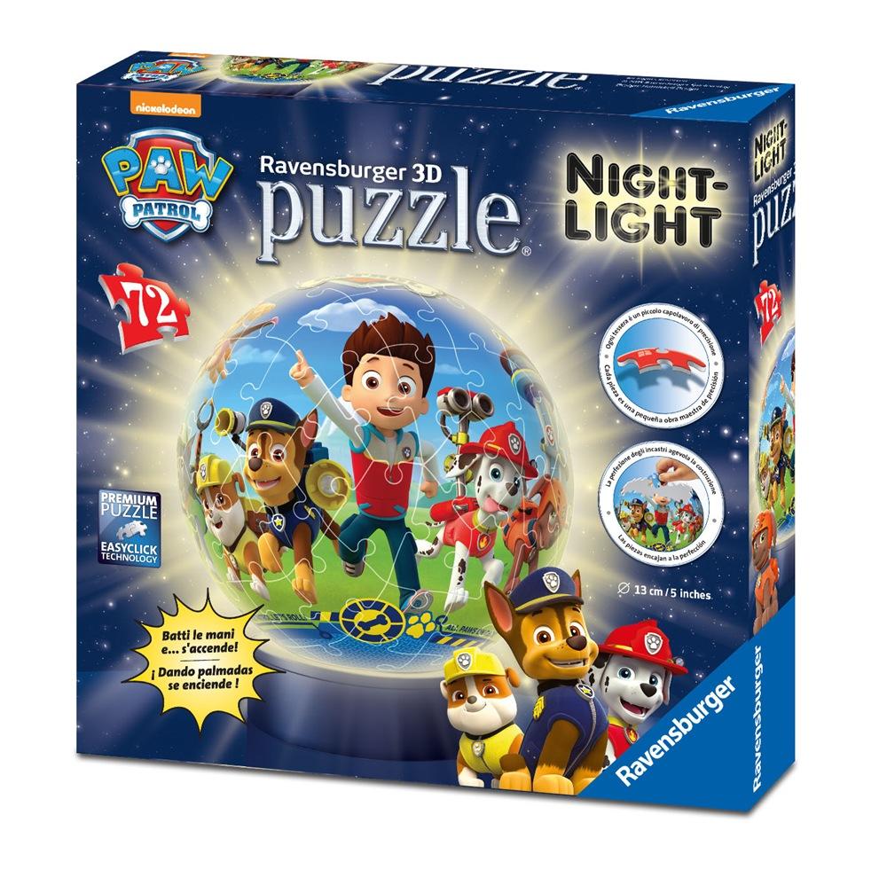 PUZZLEBALL PATRULLA CANINA NIGHT-LIGHT