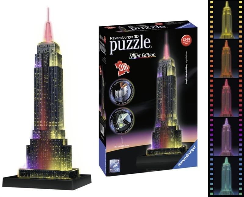 PUZZLE 3D EMPIRE STATE BUILDING 216piezas