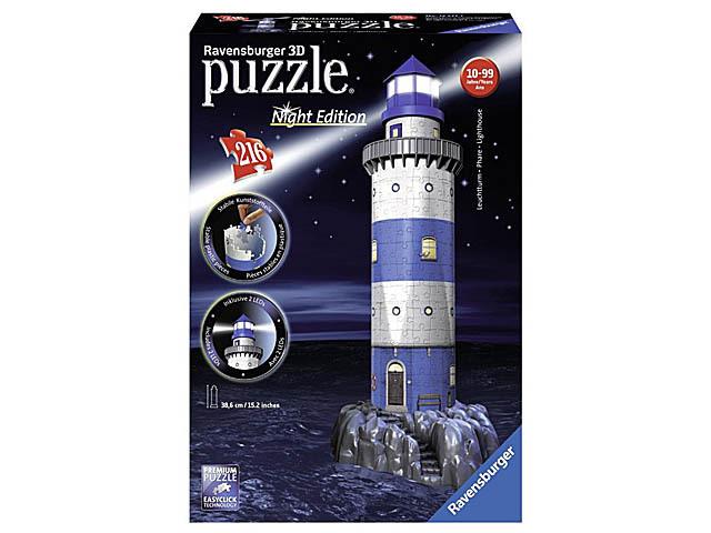 PUZZLE 3D LEUCHTTURM 216 piezas
