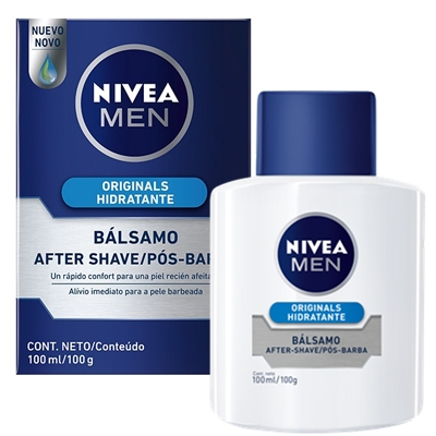 NIVEA MEN after shave bálsamo Sensitive Active Comfort frasco 100 ml