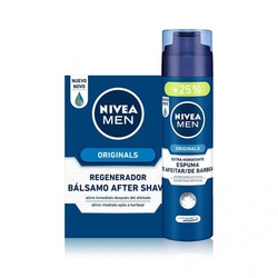 AFTER SHAVE BALSAMO + GEL DE AFEITAR REFRESCANTE