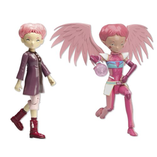 SET FIGURAS CODIGO LYOKO AELITA VIRTUAL Y REAL