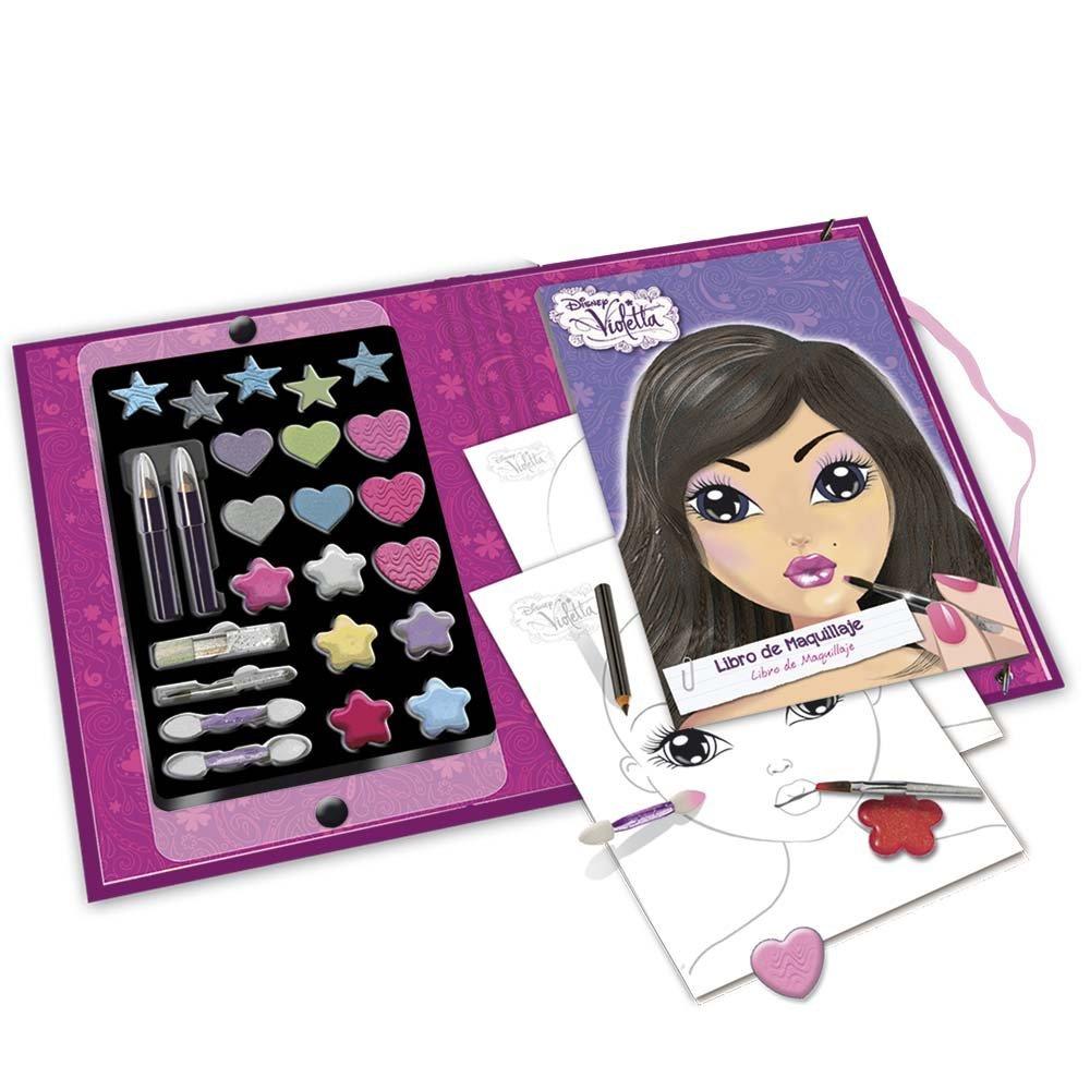 Violetta - Cuaderno de maquillaje completo, 19 x 23 cm