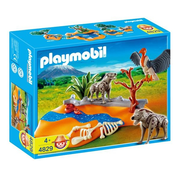 PLAYMOBIL HYENAS PLUS AVENTURE