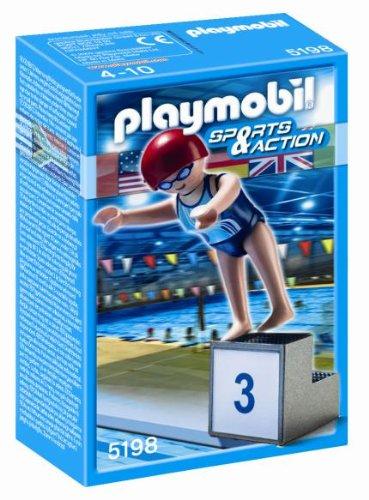 Deportista Olímpico Natación de Playmobil
