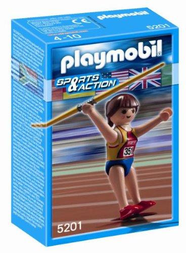 Deportista Olímpico Lanzamiento Jabalina de Playmobil