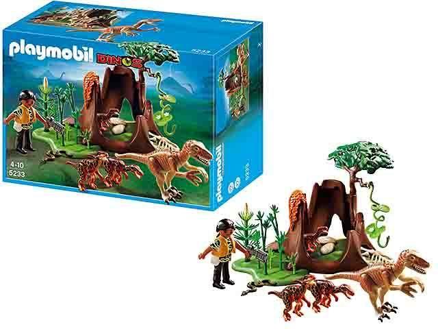 Playmobil oeste mina del oeste 5246 for Playmobil dinosaurios
