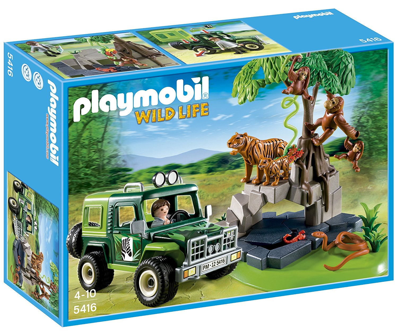 PLAYMOBIL ANIMALES JUNGLA TODOTERRENO
