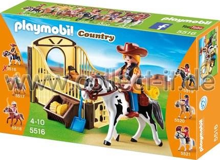 PLAYMOBIL COUNTRY CABALLO EXIBICION