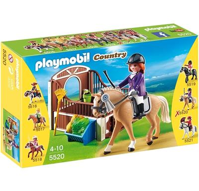 PLAYMOBIL COUNTRY CABALLO DE EXIBICION
