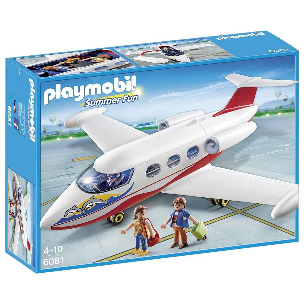 AVION DE VACACIONES PLAYMOBIL