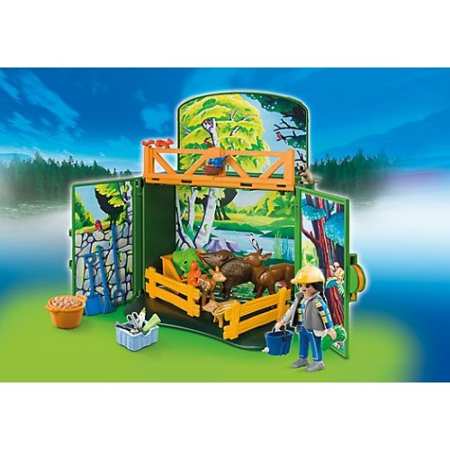 COFRE BOSQUE PLAYMOBIL