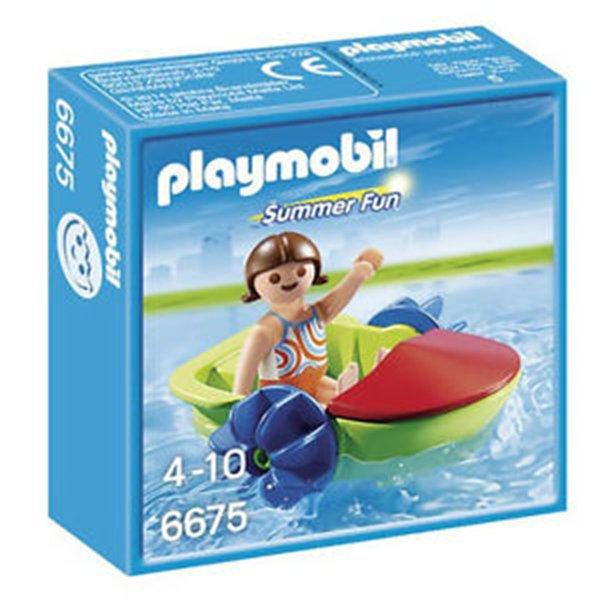 BOTE PATINETE DE PLAYA - PLAYMOBIL 6675