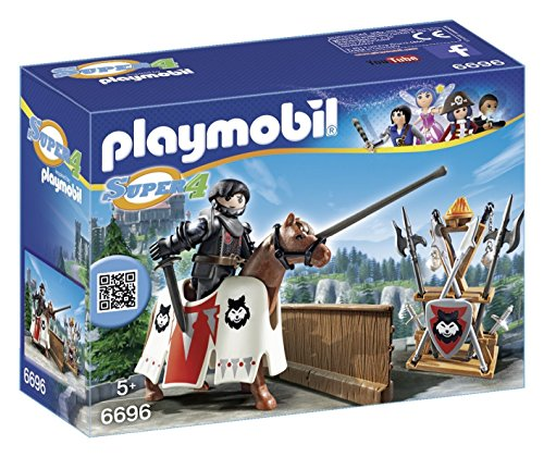 **GUARDIN DEL BARON NEGRO PLAYMOBIL