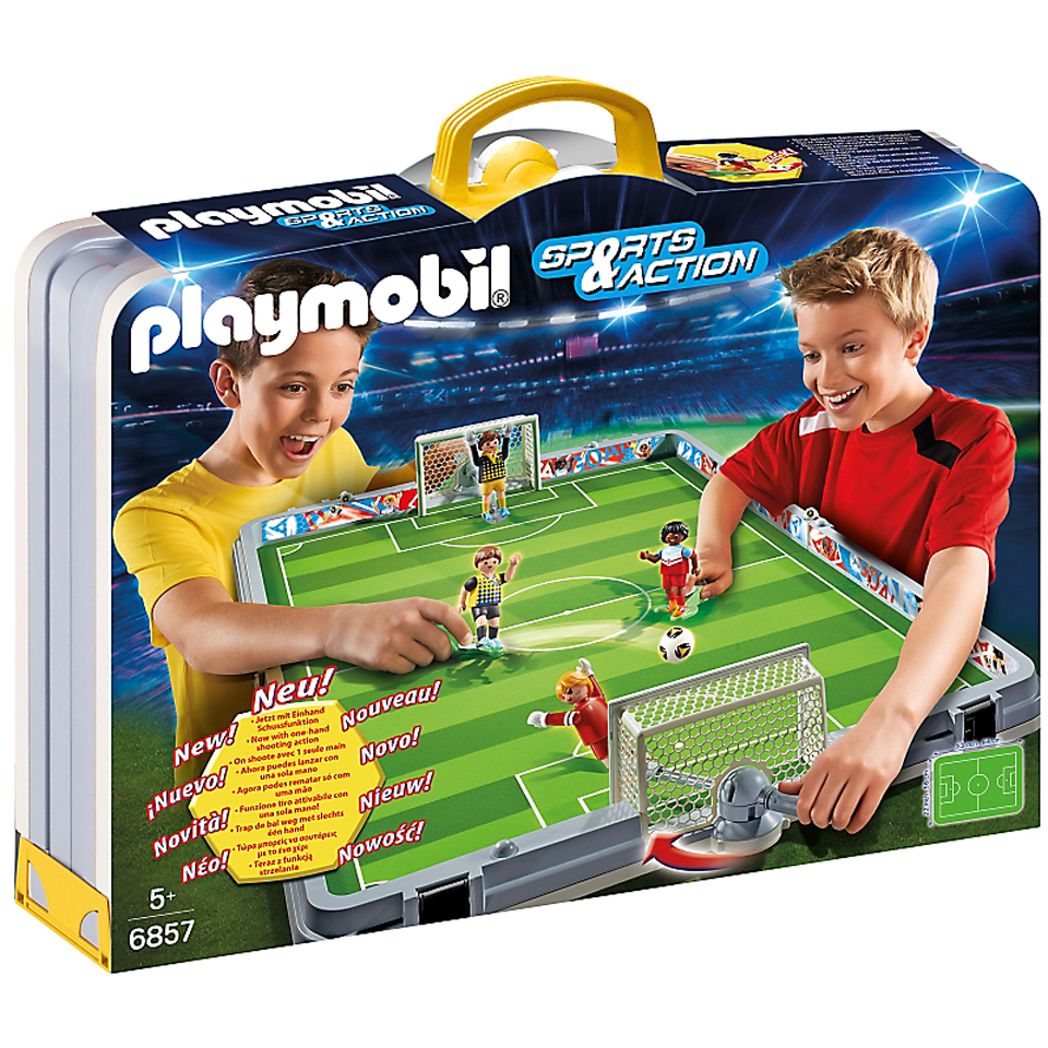 SET DE FUTBOL MALETIN PLAYMOBIL