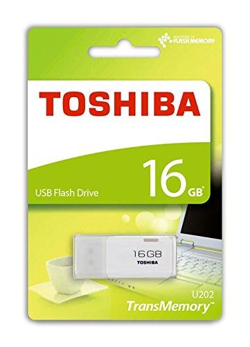 PENDRIVE 16GB USB2.0 TOSHIBA HAYABUSA BLANCO
