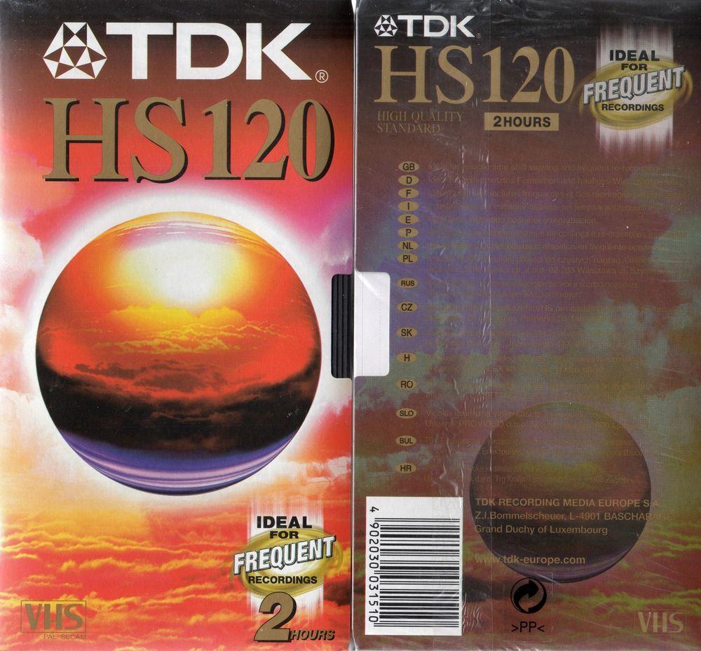 CINTA VHS VIDEO HS 120