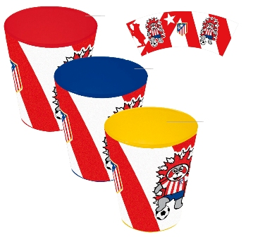 SET 3 VASOS ATLETICO DE MADRID - 4908072