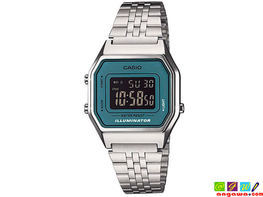 RELOJ CASIO MODELO LA-680WE-2B