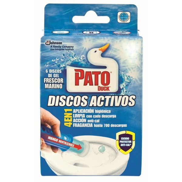 PATO WC GEL DISCOS GEL