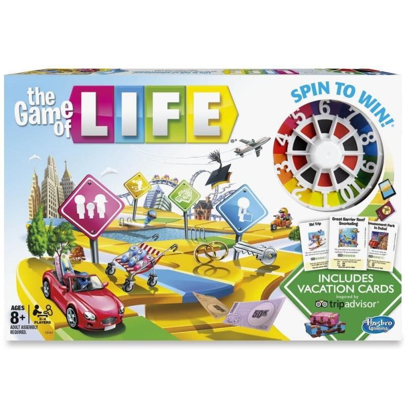 JUEGO THE GAME OF LIFE - EL JUEGO DE LA VIDA¬