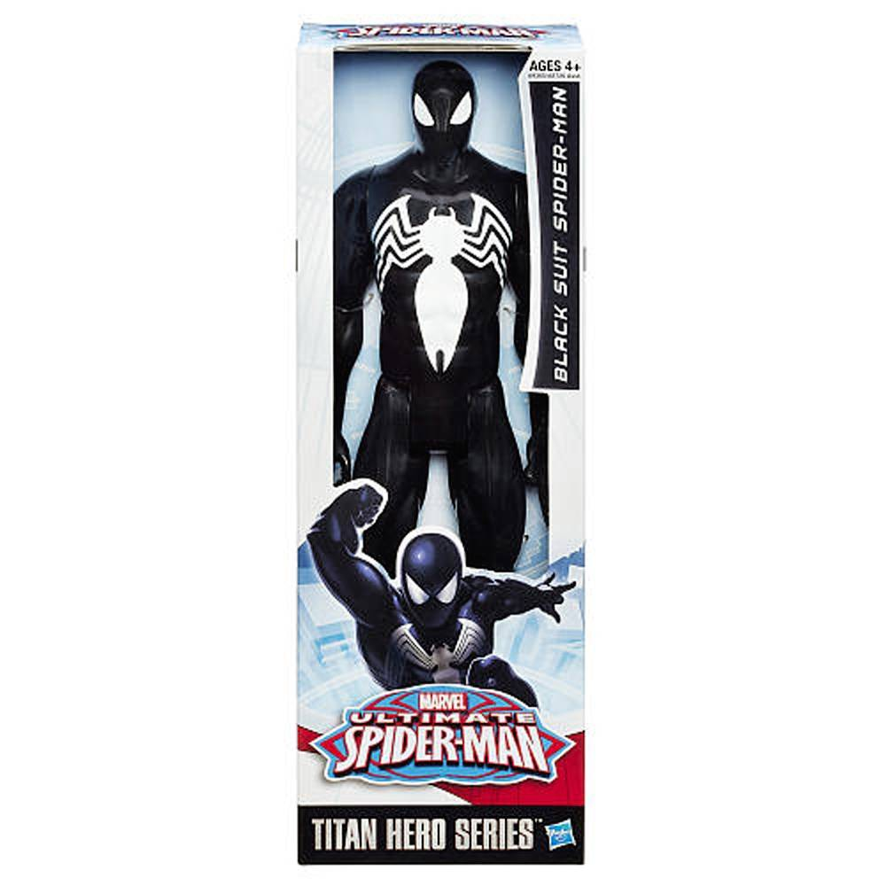 FIGURA TITAN BLACK SUIT SPIDER-MAN