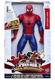 FIGURA ELECTR.LUXE TITAN SPIDER-MAN