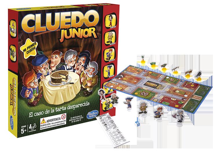 JUEGO CLUEDO JUNIOR¬