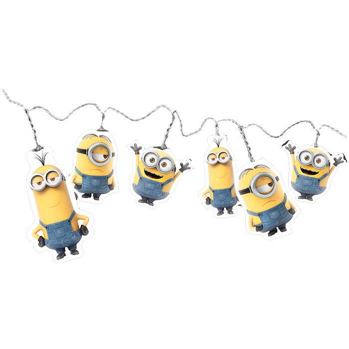 LUCES LED MINIONS CABLE