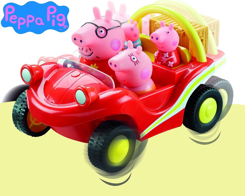**OFERTA** Peppa Pig - Buggy y su familia, color rojo
