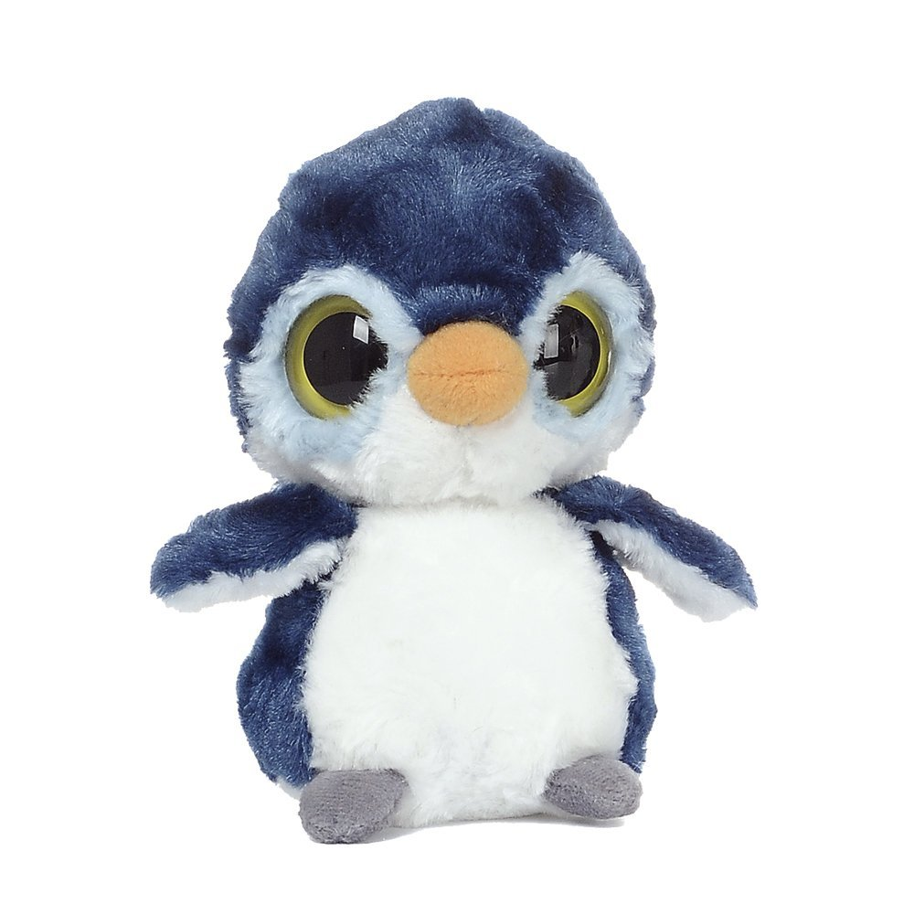 YooHoo & Friends - Peluche Fairy Penguin, 13 cm, color azul y blanco (Aurora World 12479)