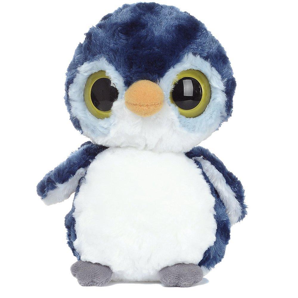 YooHoo & Friends - Peluche Fairy Penguin, 18 cm, color azul y blanco (Aurora World 12480)