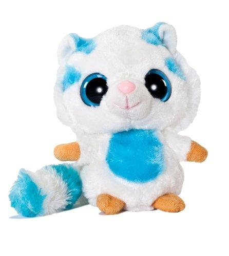 YooHoo & Friends - Muhon White Tiger, peluche, 13 cm (Aurora World 13055)