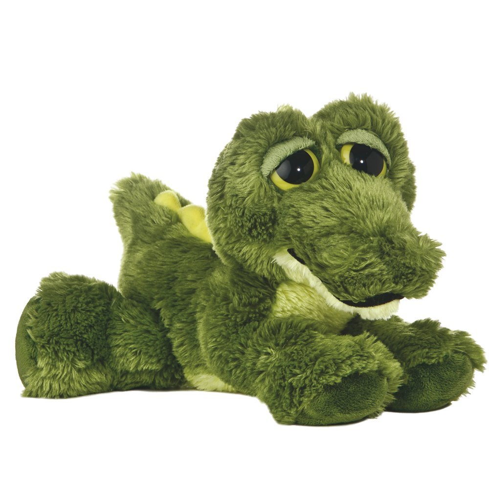 Dreamy Eyes - Cocodrilo de peluche, 12 cm, color verde (Aurora World 13214)