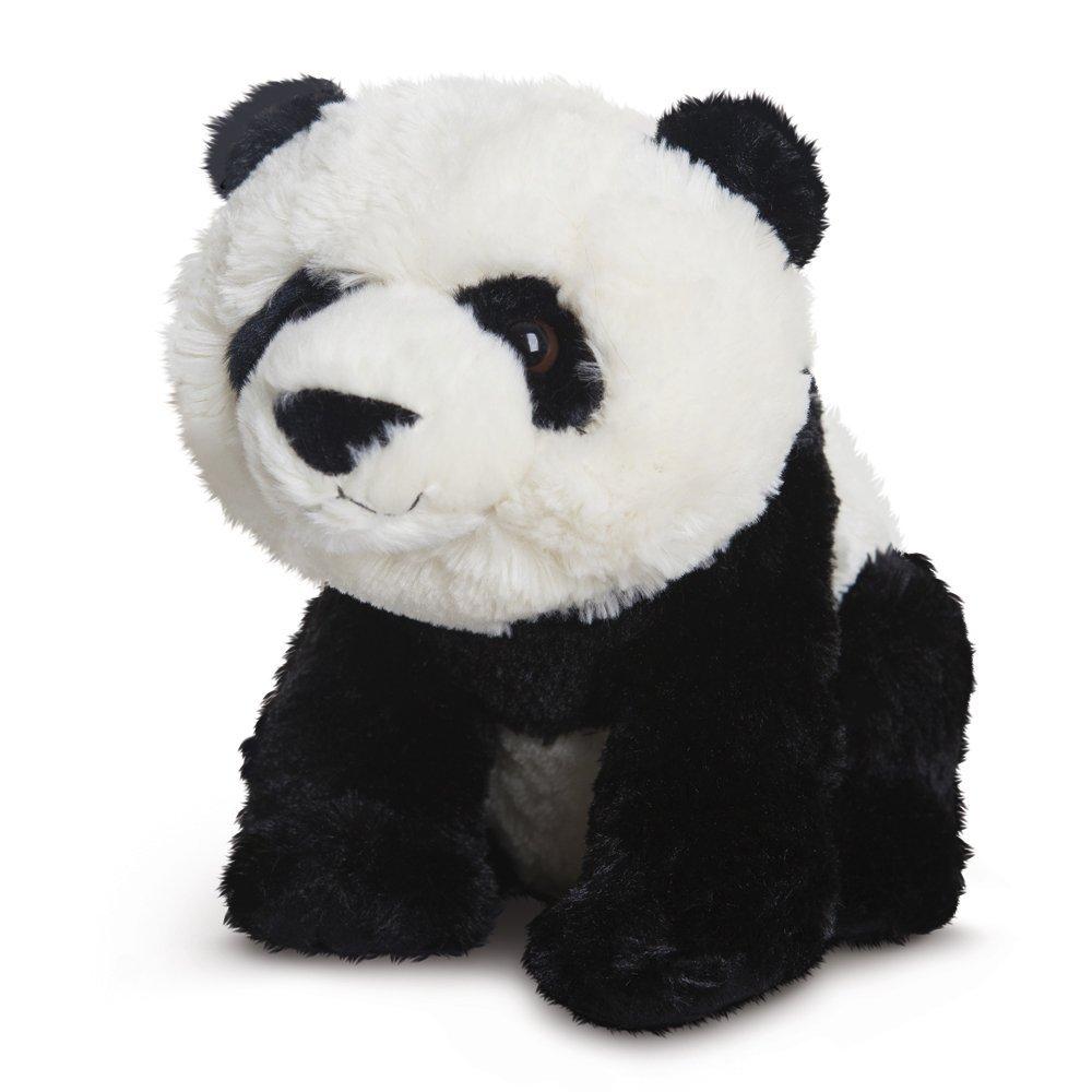 Destination Nation - Panda de peluche, 24 cm, color blanco y negro (Aurora World 19263)