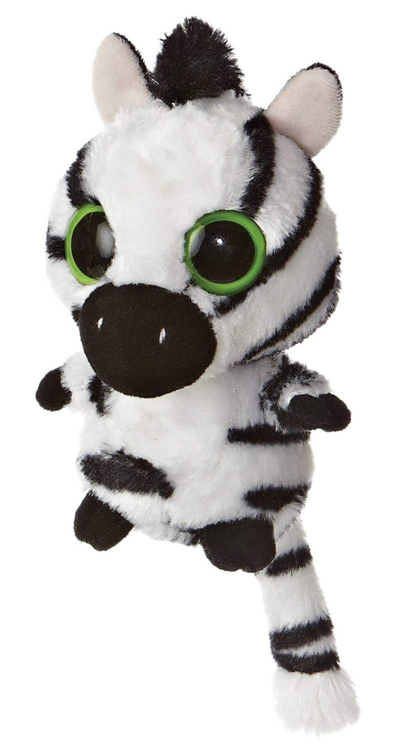 YooHoo & Friends - Stripee Zebra, peluche, 13 cm (Aurora World 60222)