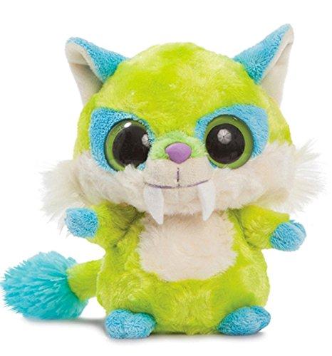 YooHoo & Friends - Dino Saber Tooth, peluche, 13 cm (Aurora World 60269)