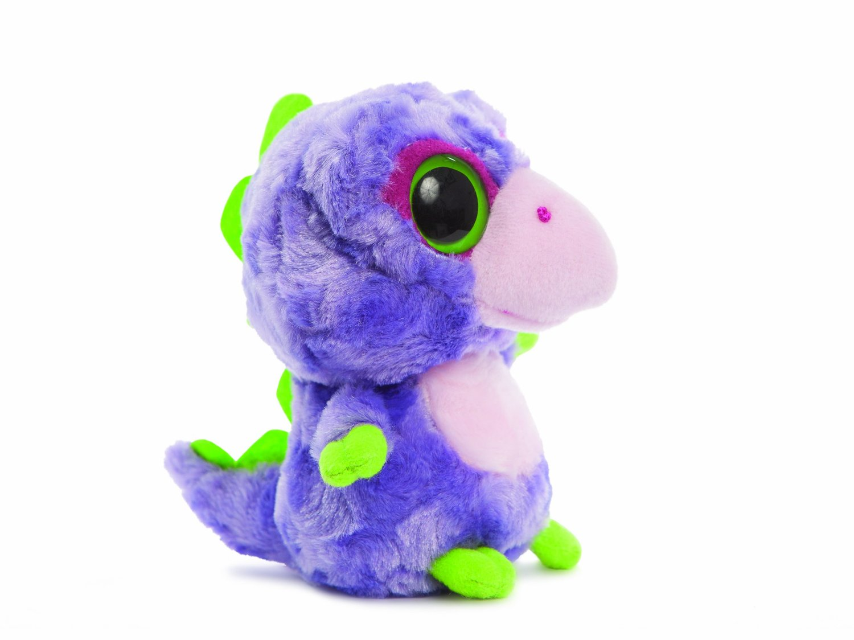 YooHoo & Friends - Dino Stegosaurus, peluche, 13 cm (Aurora World 60271)