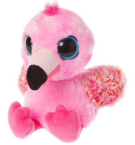 YooHoo & Friends - Flamingo, peluche, 13 cm (Aurora World 60373)