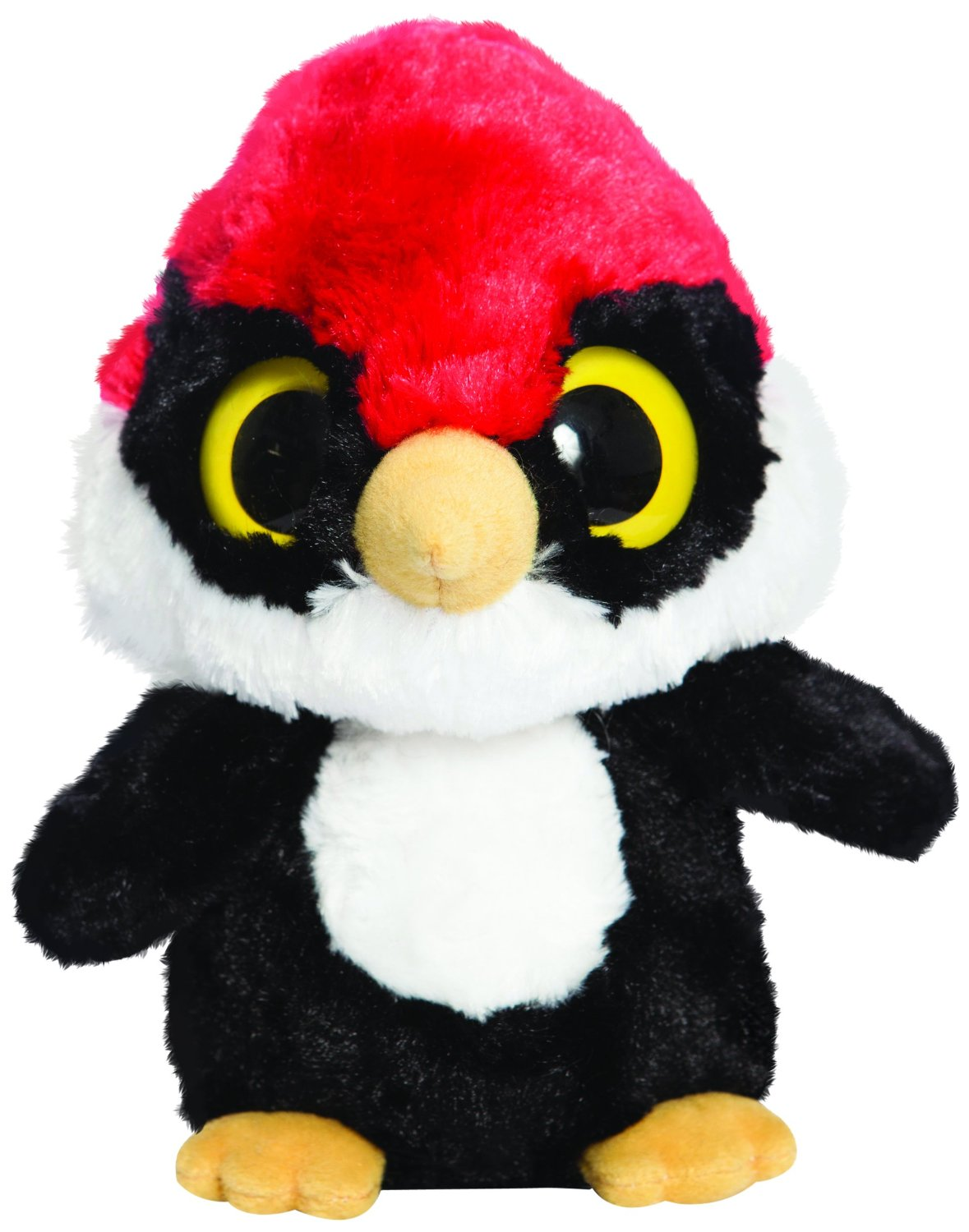 YooHoo & Friends - Woodpecker, peluche, 13 cm (Aurora World 60374)