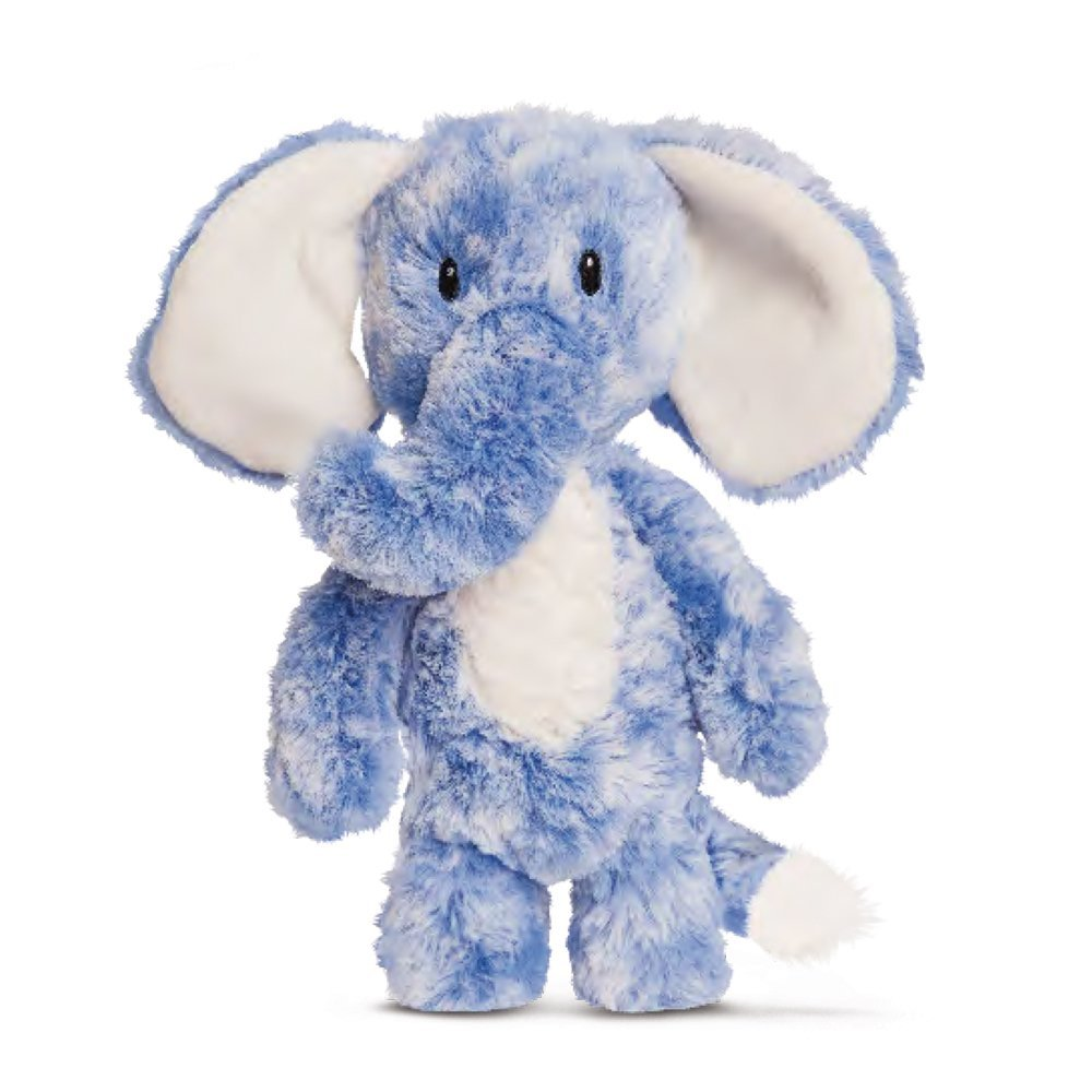 Smitties - Elefante de peluche, 28 cm, color azul (Aurora World 60462)