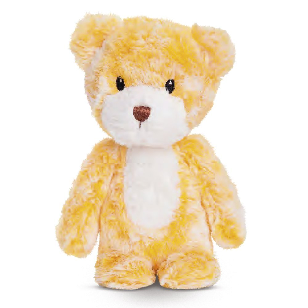 Smitties - Oso de peluche, 28 cm, color amarillo (Aurora World 60463)