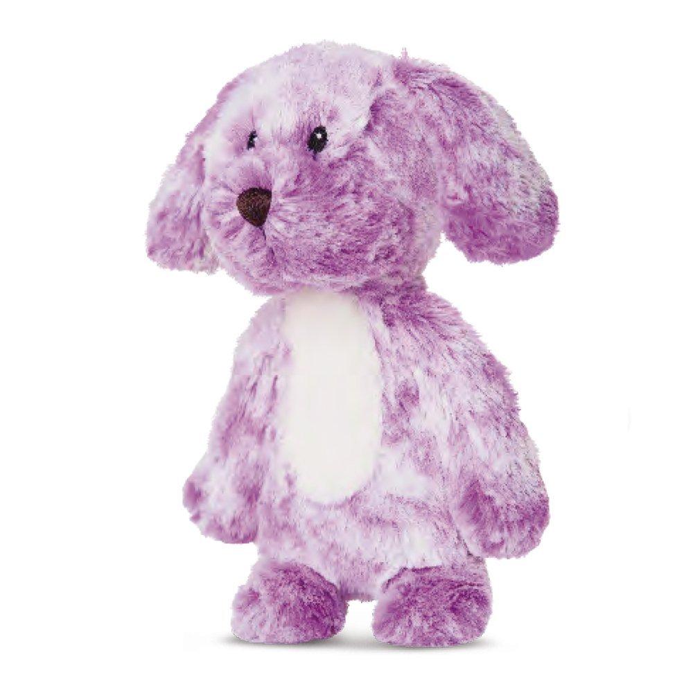 Smitties - Perro de peluche, 28 cm, color malva (Aurora World 60464)