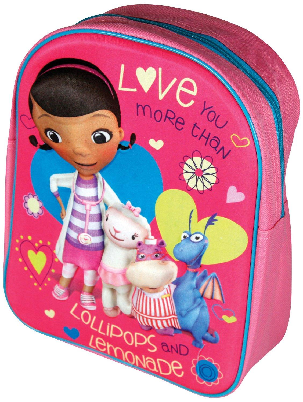 Mochila Colegial 3d Doctora juguetes