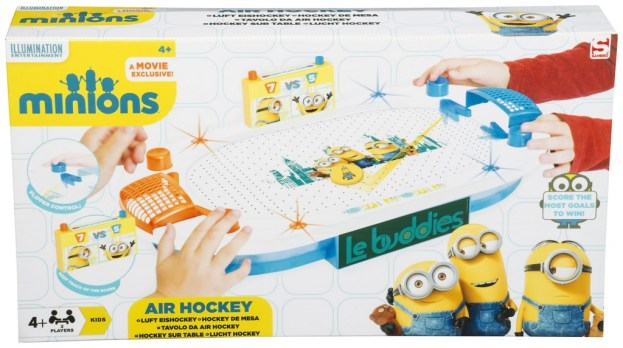 AIR HOCKEY MINION