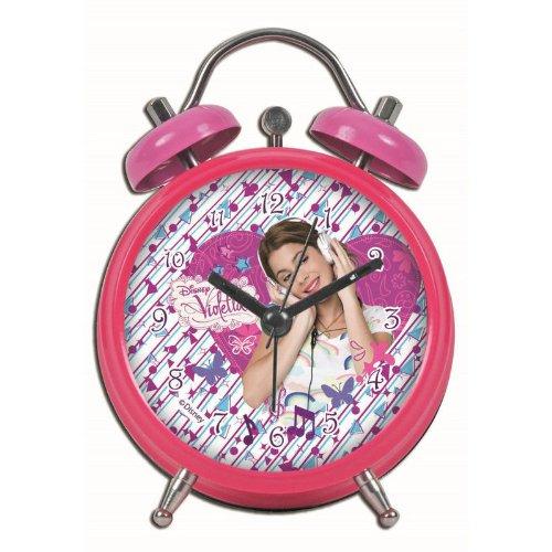 Violetta - Reloj despertador, 8 cm
