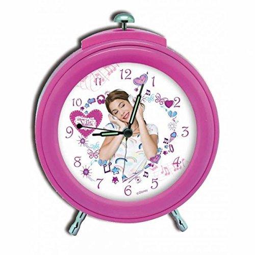 Despertador Violetta Disney Pink 12cm