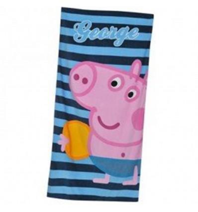 Toalla Peppa Pig George 70x140cm