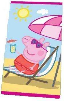 Toalla Peppa Pig en la Playa 70x140cm